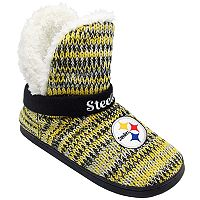 Women's Forever Collectibles Pittsburgh Steelers Peak Boot Slippers