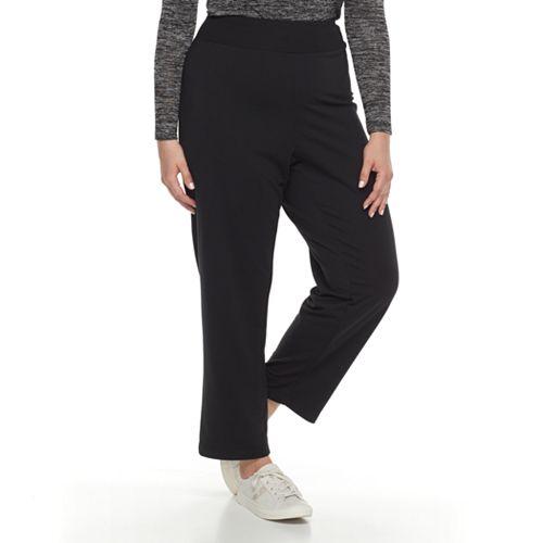 6940c390163 Plus Size Cathy Daniels Pull-On Yoga Pants
