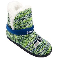 Women's Forever Collectibles Seattle Seahawks Peak Boot Slippers
