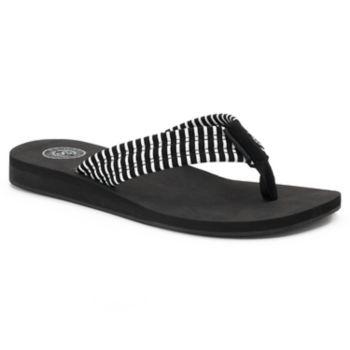 SO® Women's Lami Print ... Sandals