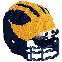 Forever Collectibles Michigan Wolverines 3D Helmet Puzzle