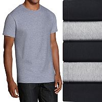 Men's Fruit of the Loom 5-pack Classic-Fit Crewneck Tees