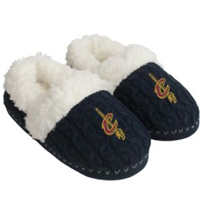 Women's Forever Collectibles Cleveland Cavaliers Cable Knit Slippers