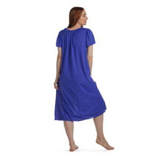 Women's Miss Elaine Essentials  Short Sleeve Night Gown