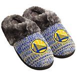 Women's Forever Collectibles Golden State Warriors Peak Slide Slippers