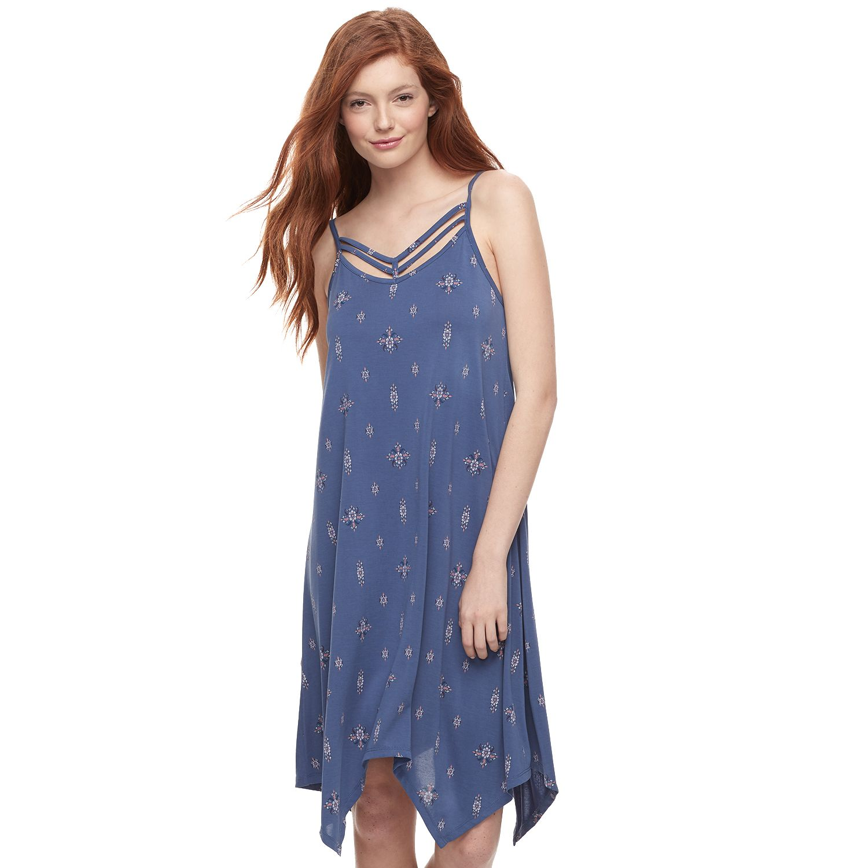 Blue maxi dresses for juniors