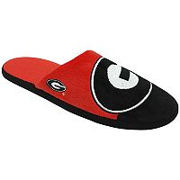 Men's Forever Collectibles Georgia Bulldogs Colorblock Slippers