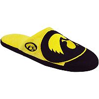 Men's Forever Collectibles Iowa Hawkeyes Colorblock Slippers