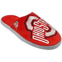 Men's Forever Collectibles Ohio State Buckeyes Colorblock Slippers