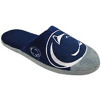 Men's Forever Collectibles Penn State Nittany Lions Colorblock Slippers