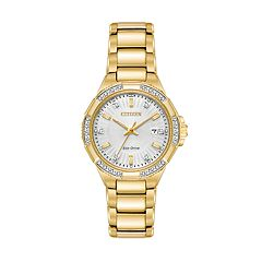 Citizen Eco-Drive Women's Riva Diamond Stainless Steel Watch - EW2462-51A