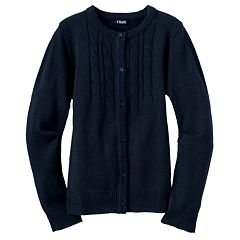 Girls 4-16 Chaps School Uniform Cardigan