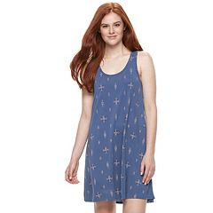 Juniors' Mudd® Cage Back Tank Dress