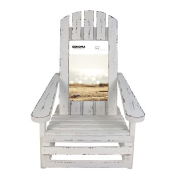"SONOMA Goods for Life? Coastal Adirondack Chair 4"" x 6"" Frame"