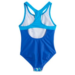 Girls 7-16 Speedo Tie-Dye One-Piece Swimsuit