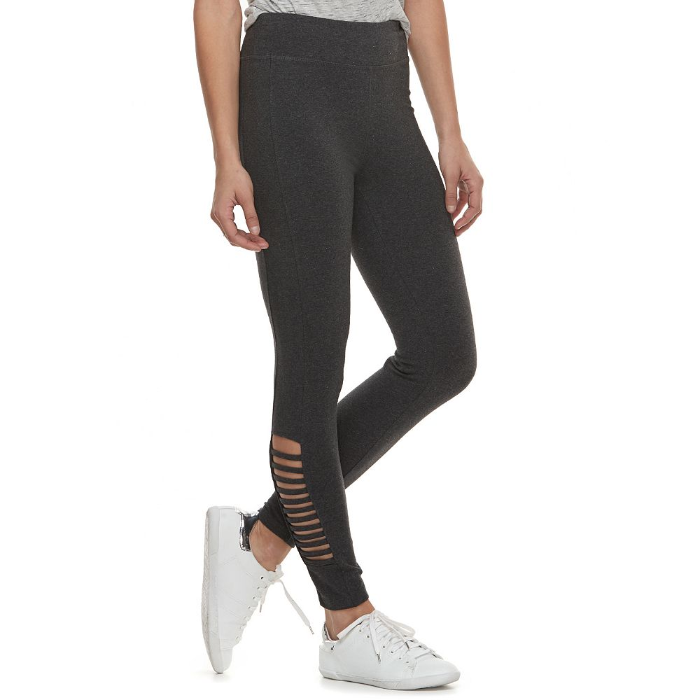 Women's French Laundry Lace-Up Leggings