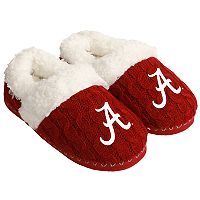 Women's Forever Collectibles Alabama Crimson Tide Cable Knit Slippers