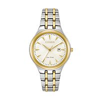Citizen Eco-Drive Women's Corso Two Tone Stainless Steel Watch - EW2494-54A