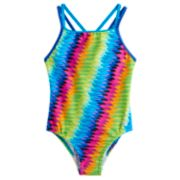 Girls 7-16 Speedo Rainbow One-Piece Swimsuit