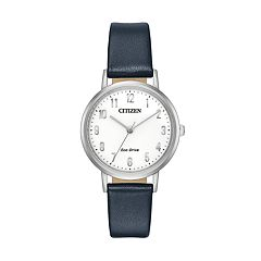 Citizen Eco-Drive Women's Chandler Leather Watch - EM0570-01A