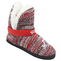 Women's Forever Collectibles Alabama Crimson Tide Peak Boot Slippers