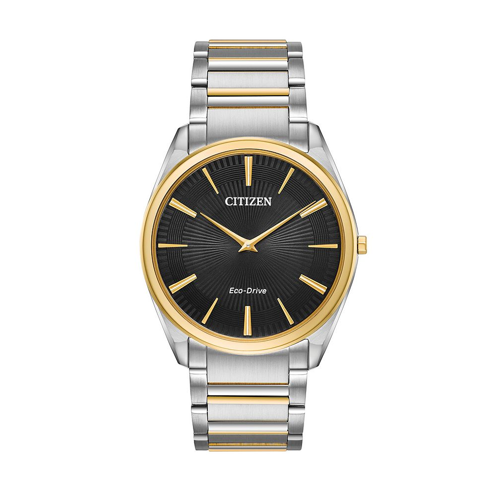Citizen Eco-Drive Men's Stiletto Stainless Steel Watch