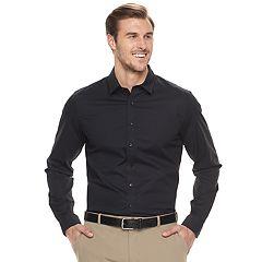 Big & Tall Apt. 9® Slim-Fit Stretch Button-Down Shirt