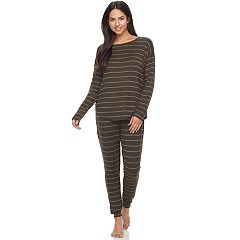Women's Apt. 9® Pajamas: Drop Shoulder Top & Jogger Pants PJ Set