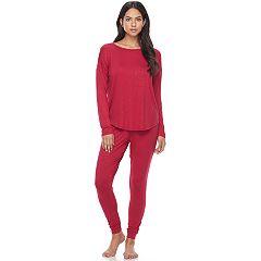 Women's Apt. 9® Pajamas: Drop Shoulder Top & Jogger Pants PJ Set