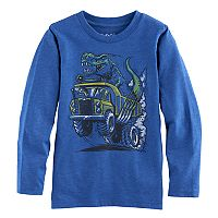 Boys 4-10 Jumping Beans® Dump Truck T-Rex Long Sleeve Graphic Tee