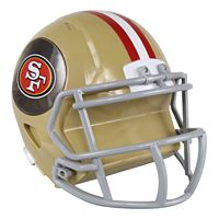 Forever Collectibles San Francisco 49ers Helmet Bank
