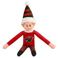 Forever Collectibles Minnesota Wild Team Holiday Elf