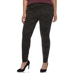 Plus Size Rock & Republic® Camo Leggings