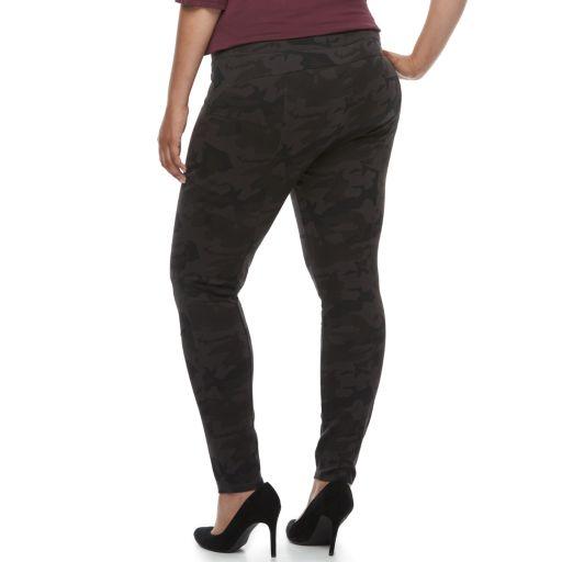 Plus Size Rock & Republic® Camo Leggings
