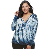 Plus Size Rock & Republic® Twist Top