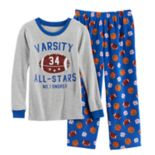 Boys 4-8 Carter's Varsity All Star 2-Piece Pajama Set