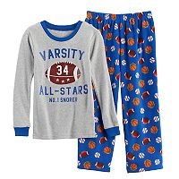 Boys 4-8 Carter's Varsity All Star 2 pc Pajama Set