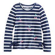 Girls 7-16 SO® Side Tie Sweatshirt