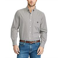 Big & Tall Chaps Regular-Fit Button-Down Shirt
