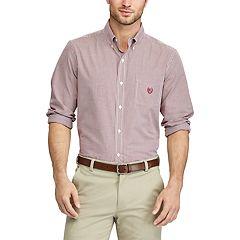 Big & Tall Chaps Regular-Fit Button-Down Shirt