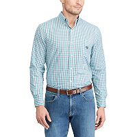 Big & Tall Chaps Regular-Fit Stretch Button-Down Shirt