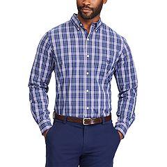 Big & Tall Chaps Regular-Fit Stretch Button-Down Shirt