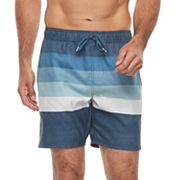 Men's Trinity Collective Barz Elastic Stripe Print Shorts