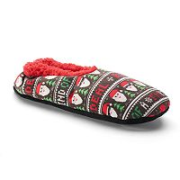 Men's Ugly Christmas Sweater Slippers