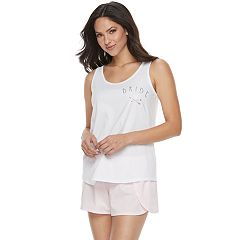 Women's Apt. 9® Pajamas: Bridal Tank and Shorts Set