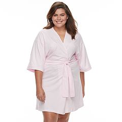 Plus Size Apt. 9® Pajamas: Bridal Wrap Robe