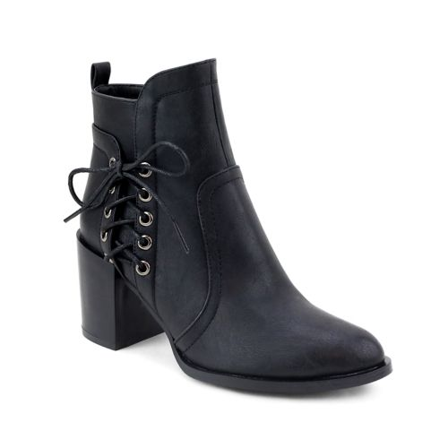 Olivia Miller East Village ... Women's Lace-Up Ankle Boots