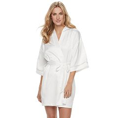 Women's Apt. 9® Embroidered Bridal Wrapper Robe
