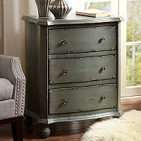 Madison Park Reema 3-Drawer End Table