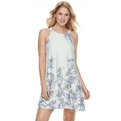 Women's Apt. 9® Pajamas: Patterned Built Up Chemise